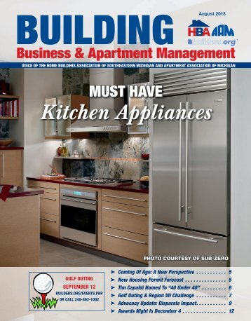 August 2013 BBAM Magazine - HBA of Southeastern Michigan