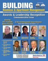 Awards & Leadership Recognition - HBA of Southeastern Michigan