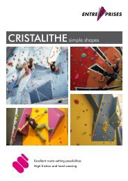 CRISTALITHE - Entre Prises Climbing Walls