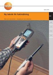 testo 635-1 - Nordtec Instrument AB
