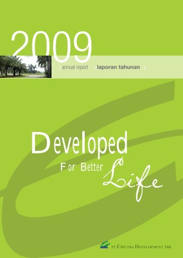 For Better - Ciputra Development