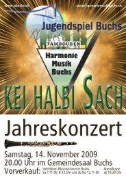 Download Programm als PDF - Harmoniemusik Buchs