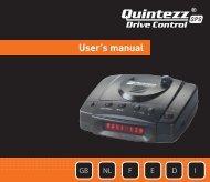 User's manual - Quintezz
