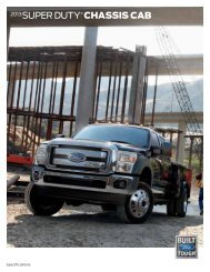 2013 Chassis Cab - Thoroughbred Ford