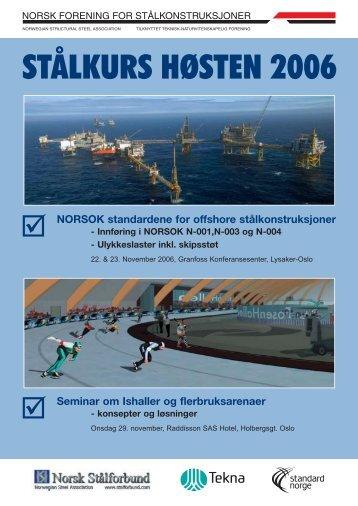 NORSOK standardene for offshore stålkonstruksjoner