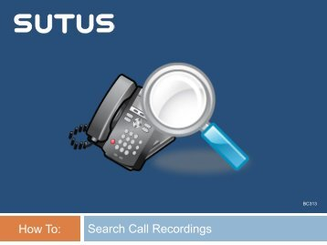 How To Search Call Recordings
