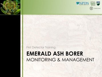 Module 2: Monitoring and Management - New York Invasive ...