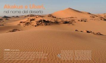 Akakus e Ubari nel nome del deserto - Torino Magazine