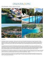 Villa Margita, Jelsa, Island of Hvar - CroatiaGems