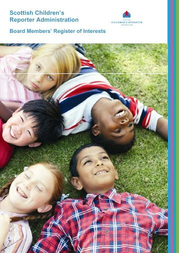 Register of Interests - Scottish Children's Reporter Administration