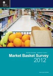 Market Basket Survey - NT Health Digital Library - Northern Territory ...