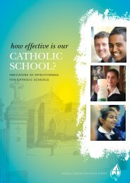How effective is our Catholic School? - Catholic Education Office ...