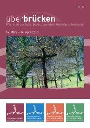 ueberbruecken 4_13 - Seelsorgeeinheit Heidelberg-Neckartal