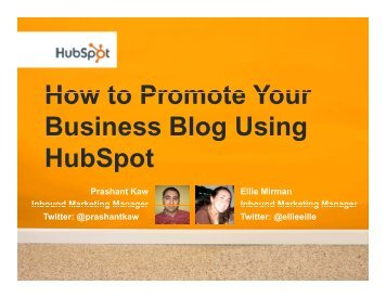 How to Promote Your How to Promote Your Business Blog Using ...