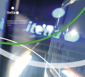 annual and corporate  responsibility report 2011 - Itella Corporation