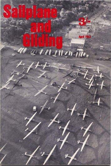 Sailplane & Gliding 1963 - Lakes Gliding Club