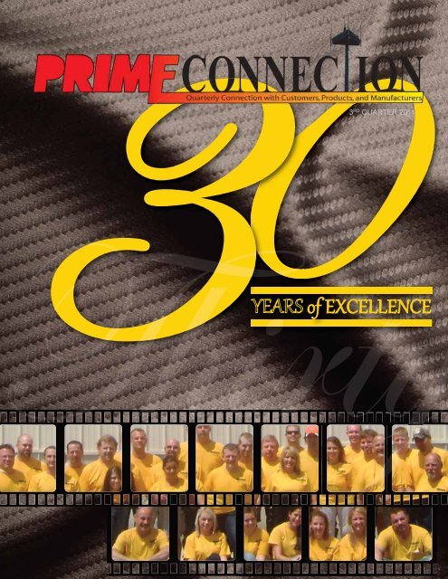YEARS of EXCELLENCE - Primus Electronics Corporation