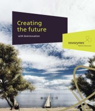 Reating The Future - Novozymes
