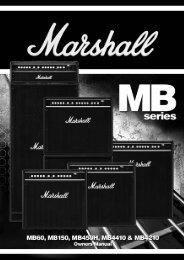 MB60 handbook aw - Marshall