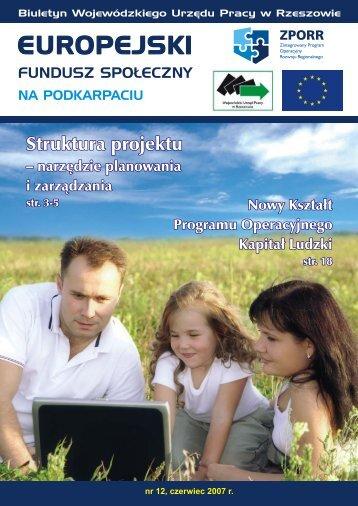 Elektroniczny Biuletyn ZPORR - numer 12, czerwiec 2007 r