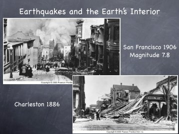 Earthquakes and the Earth's Interior