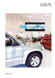 Commerciële brochure MultiFlair - GEA Happel Belgium