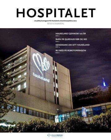 Hospitalet 2012 Jubileum.pdf - Helse Bergen