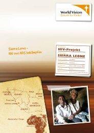 Sierra Leone - HIV und AIDS bekämpfen - World Vision Institut