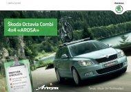 Škoda Octavia Combi 4x4 «AROSA» PROFITIER - Auto Sauter AG