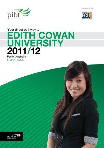 EDITH COWAN UNIVERSITY 2011/12 - Navitas