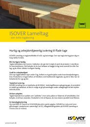 Løsninger med Lameltag - Isover