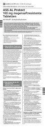 Download Gebrauchsinformation - Aliud Pharma GmbH & Co. KG