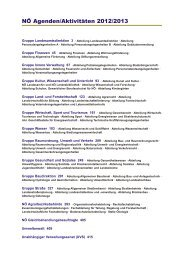 NÖ Agenden/Aktivitäten 2012/2013 - Open Government Data - Das ...