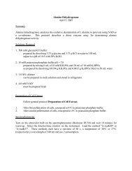 Alanine Dehydrogenase - CMBE