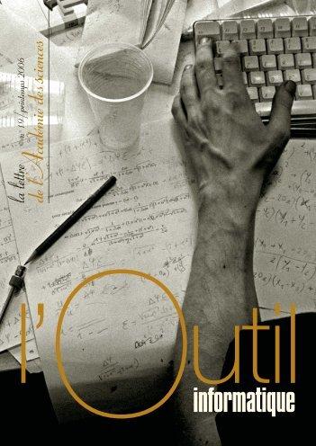 L'outil informatique - La Lettre n°19 - Académie des sciences