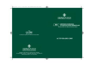 ACTIVIDADES 2005 - UCES