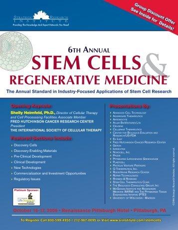RegeneRative mediCine - ALM Events