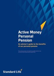 Active Money Personal Pension guide - Adviserzone