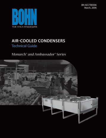 BOHN [BNH] Air Cooled Condensers.pdf - Schneider Electric
