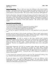English 312 Syllabus 2008 – 2009 Mr. Correa Course Description ...