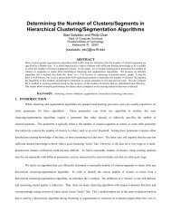 Determining the Number of Clusters/Segments in Hierarchical ...