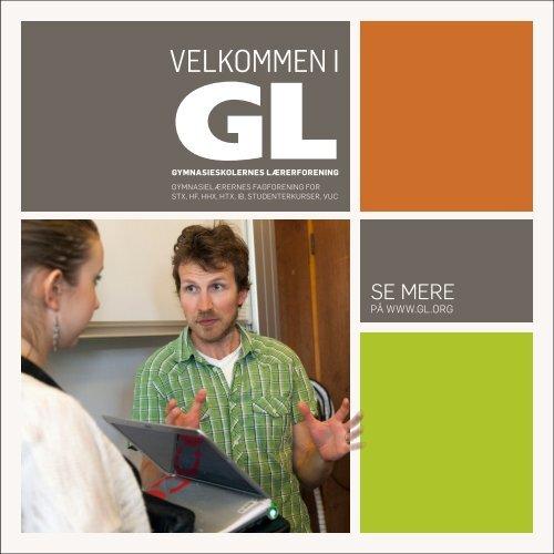 GL velkomstfolder.pdf - Gymnasieskolernes Lærerforening