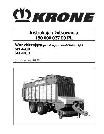Instrukcja u ytkowania 150 000 037 00 PL - Agromix