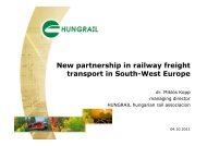New partnership in railway freight transport in South-West Europe