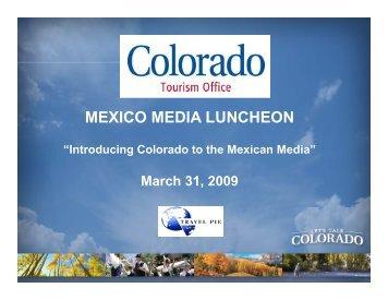 MEXICO MEDIA LUNCHEON