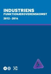Industriens Funktionæroverenskomst 2012 – 2014 - 3F