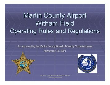 Airport Driver Training 2010-09-01.pdf - Martin County, Florida