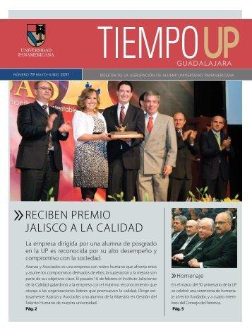 reciben premio jalisco a la calidad - Universidad Panamericana
