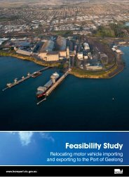 Feasibility Study - Department of Transport