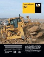 Specalog for Tractor de Cadenas D9T, ASHQ5591 - Kelly Tractor